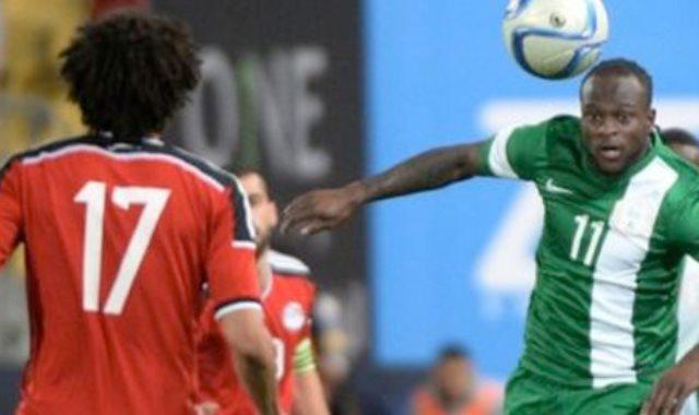 منتخب مصر ضد نيجيريا