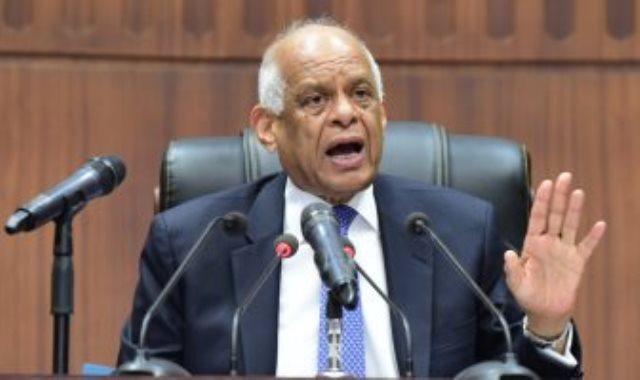 لدكتور علي عبد العال، رئيس مجلس النواب