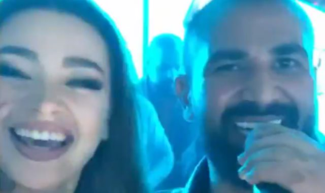 أحمد سعد وجوهرة
