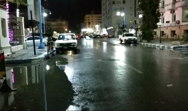 الامطار في مرسي مطروح
