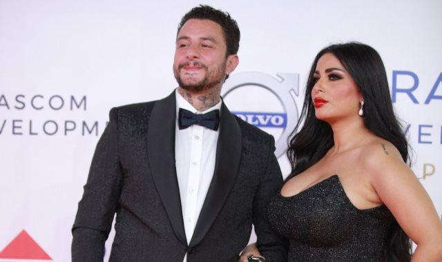 أحمد الفيشاوى وزوجته