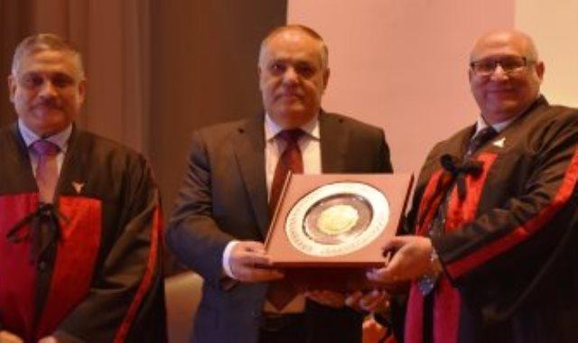تكريم الفريق عبد المنعم التراس فى جامعة عين شمس