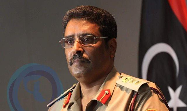 اللواء أحمد المسمارى الناطق باسم القائد العام للقوات المسلحة الليبية