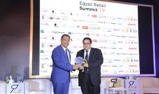 """جانب من انطلاق قمة تجارة التجزئة الأولى فى مصر """"2019 ERS"""""""
