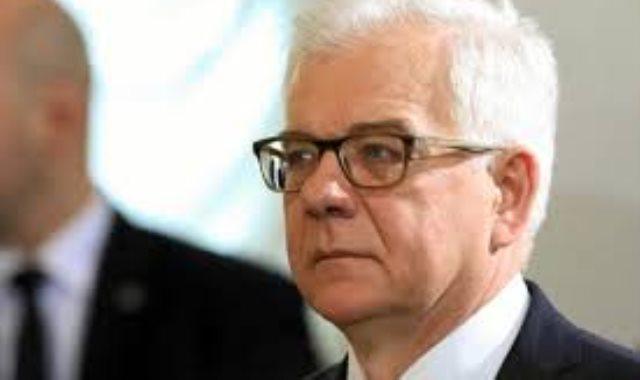 وزير الخارجية البولندى باتسيك تشابوتوفيتش