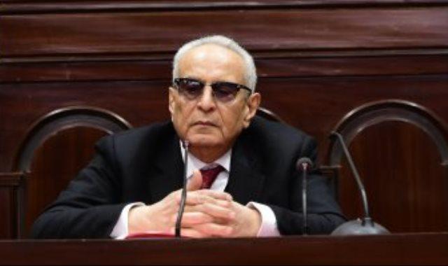 المستشار بهاء ابو شقة رئيس اللجنة التشريعية