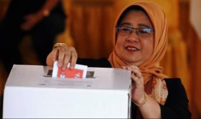 الانتخابات فى إندونيسيا
