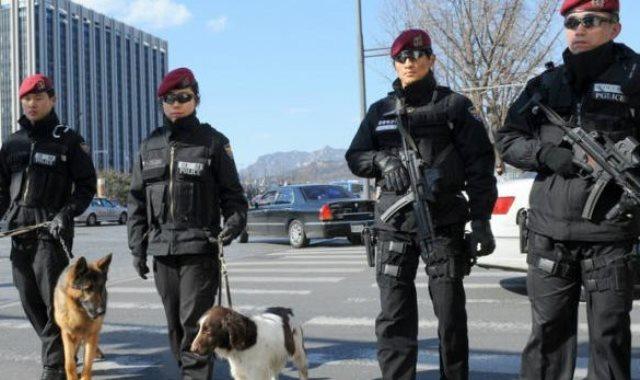 الشرطة فى كوريا الجنوبية - أرشيفية