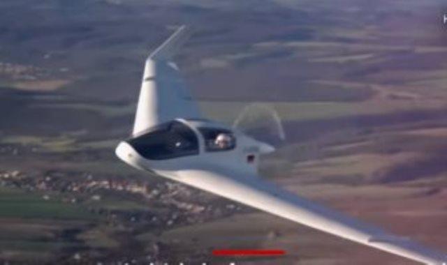 طائرة ألمانية دون ذيل أو جسم