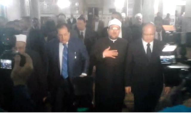 افتتاح ساحة مسجد السيدة زينب