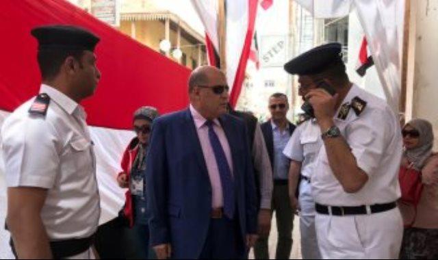 مساعد وزير الداخلية يتفقد اللجان