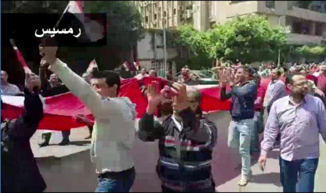 مسيرات حاشدة تجوب شوارع القاهرة