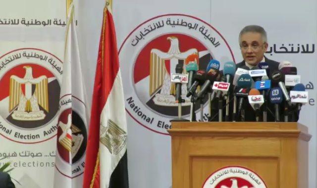المستشار محمود حلمى الشريف، نائب رئيس الهيئة الوطنية للانتخابات