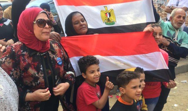 المصريون يتحدثون عن الاستفتاء