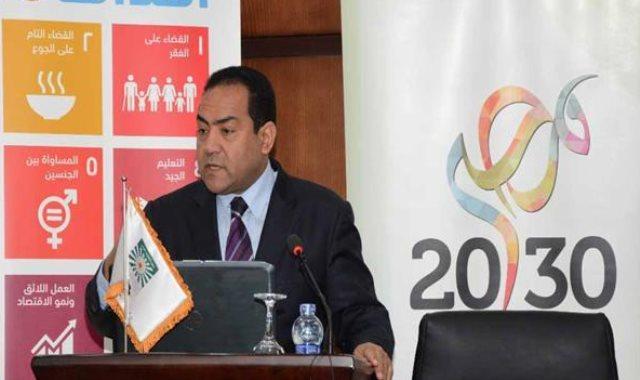 صالح الشيخ رئيس الجهاز المركزي للتنظيم والإدارة