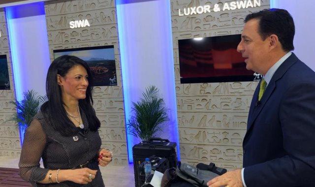 وزيرة السياحة في لقائها مع CNN