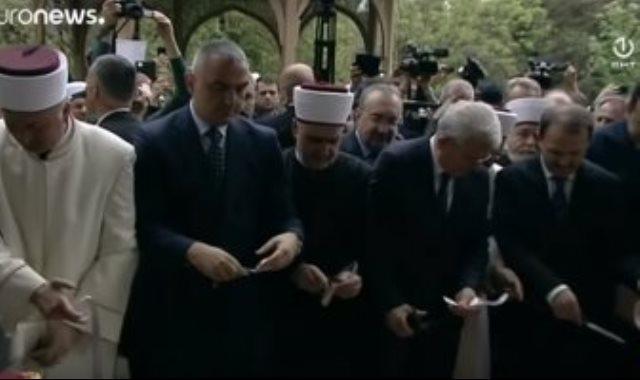 افتتاح المسجد