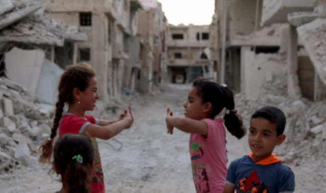 اطفال فى سوريا