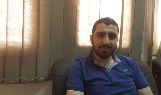 عبد الله أحمد واحدى من مدينة حلب بسوريا