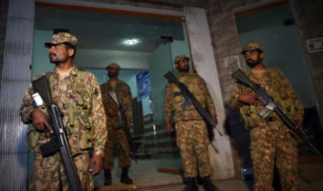 عناصر من الجيش الباكستانى