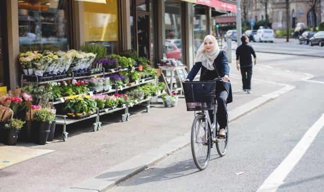 ركوب الدراجات في السويد