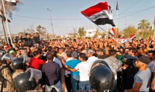 مظاهرات فى العراق ـ صورة أرشيفية