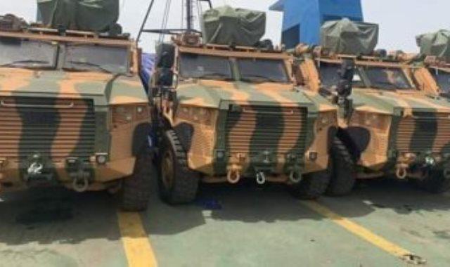 شحنة الأسلحة التركية المهربة إلى طرابلس