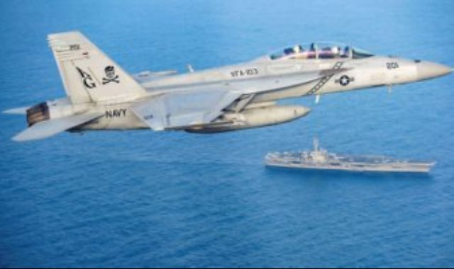 مناورات أمريكية فى بحر العرب