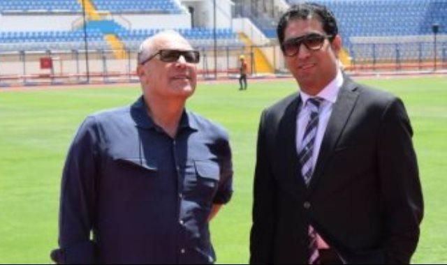 محمد شيحة رئيس مجموعة الإسماعيلية ببطولة كأس أمم أفريقيا 2019