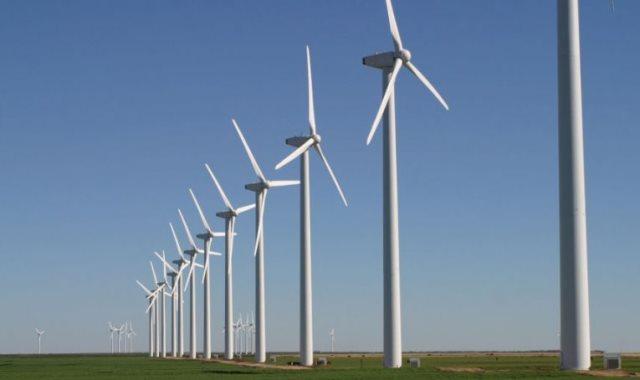 توليد الكهرباء من الرياح