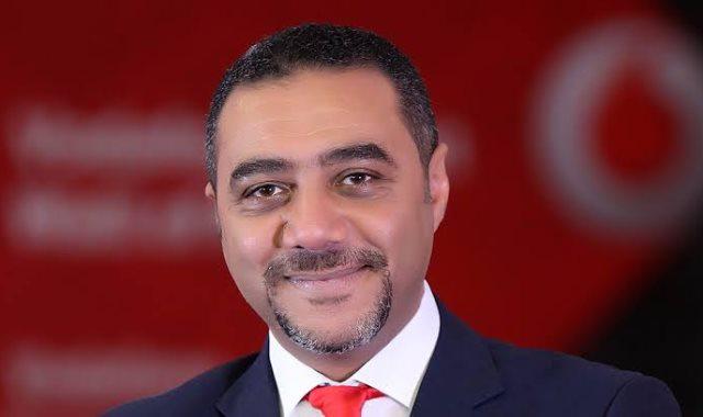 أيمن عصام رئيس قطاع العلاقات الحكومية والخارجية بشركة فودافون مصر