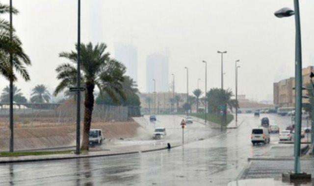 أمطار فى القاهرة والجيزة