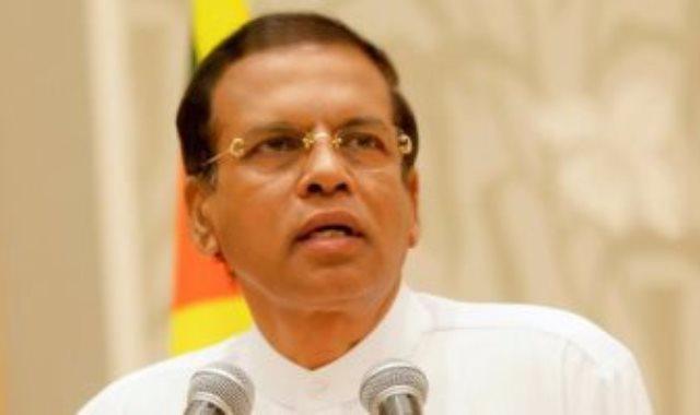رئيس سريلانكا مايثريبالا سيريسينا