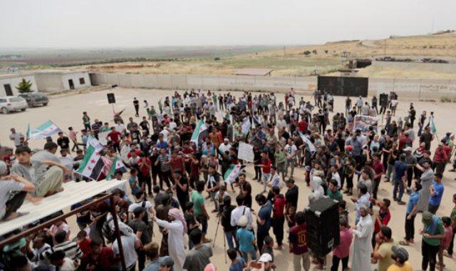 تظاهرات ضد أردوغان