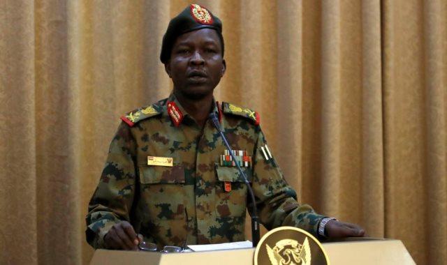 المتحدث الرسمى باسم المجلس العسكرى الانتقالى السودانى شمس الدين الكباشى