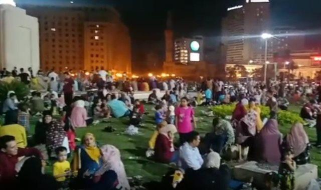 حدائق ميدان التحرير