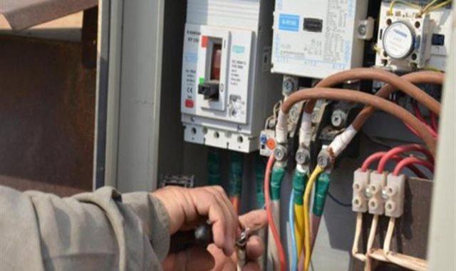 سرقات الكهرباء