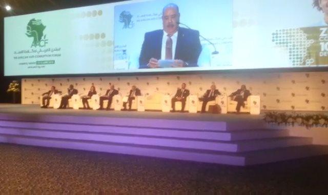 فعاليات المنتدى الأفريقى لمكافحة الفساد