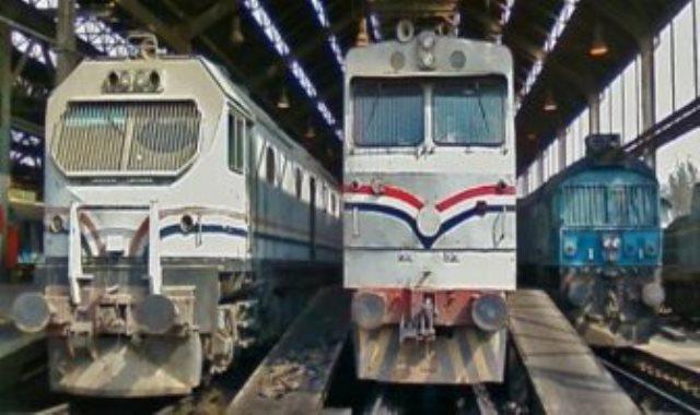 قطارات السكة الحديد ـ أرشيفية