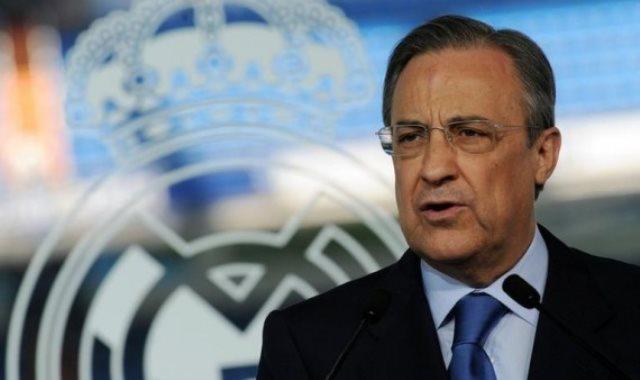 بيريز رئيس ريال مدريد