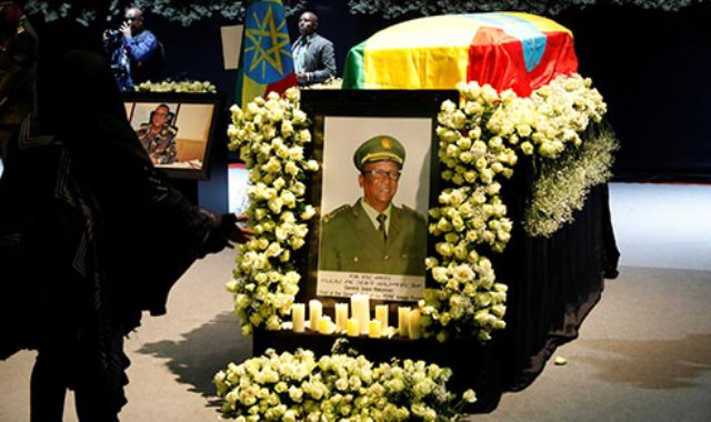 جنازة عسكرية لرئيس الأركان الإثيوبى فى أديس أبابا