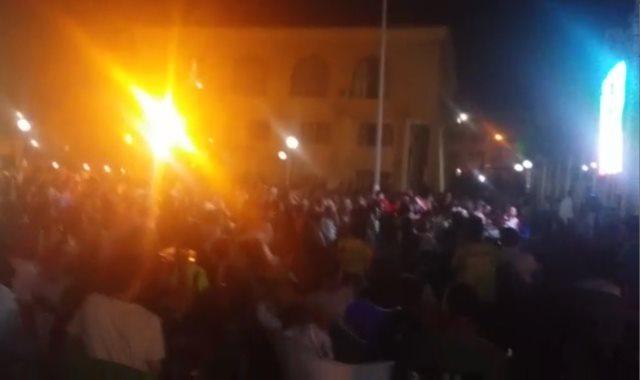 أبناء القليوبية يحتفلون بتأهل مصر