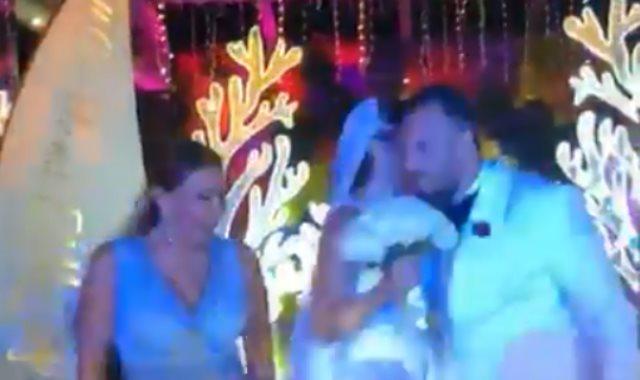 لوسي في حفل زفاف نجل ماجد المصري