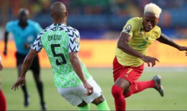 مباراة الكاميرون ونيجيريا