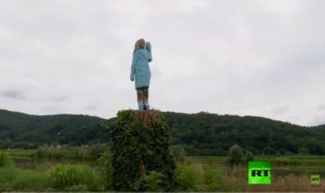 """تمثال """"ميلانيا ترامب"""""""