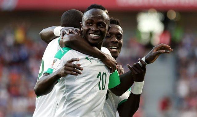 لاعبو السنغال
