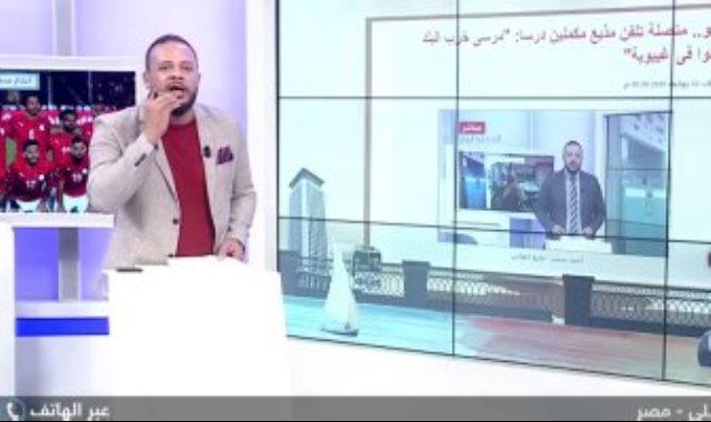 مذيع الإخوان أحمد سمير