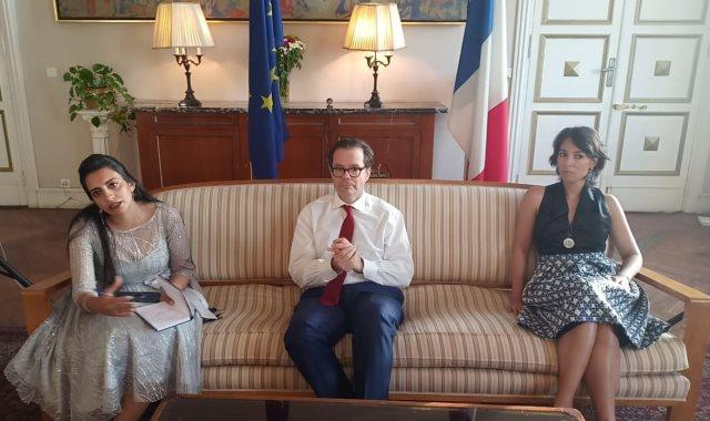 ستيفان روماتيه سفير فرنسا بالقاهرة