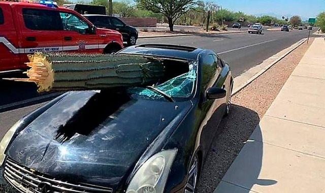 السيارة فى موقع الحادث
