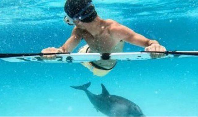 السباحة تحت الماء